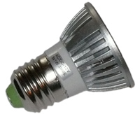 LED Spotlight 12 Volt DC 3x1 Watt E27