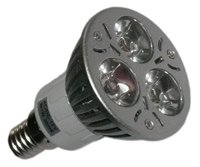 LED Spotlight 12 Volt DC E14 3x1 Watt