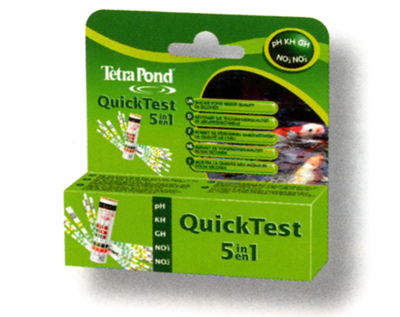TetraPond® QuickTest 5in1